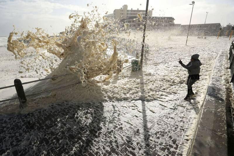 طوفان کف در آفریقای جنوبی