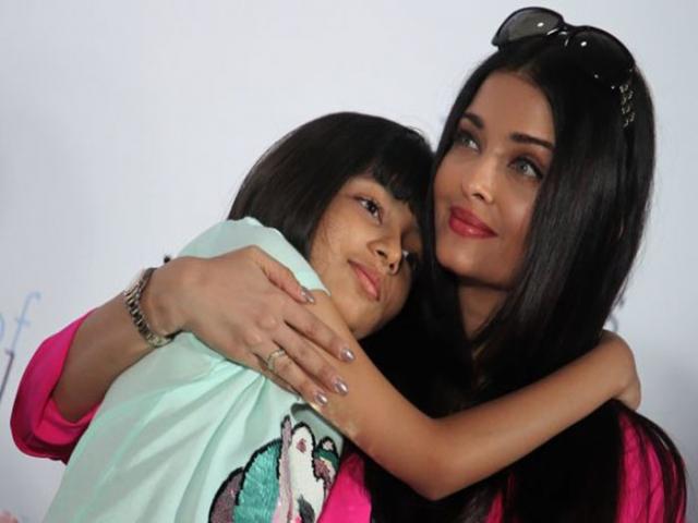 آیشواریا رای و دخترش در بیمارستان بستری شدند