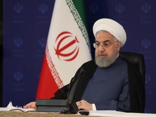 روحانی : در حال عبور از پیک کرونا هستیم