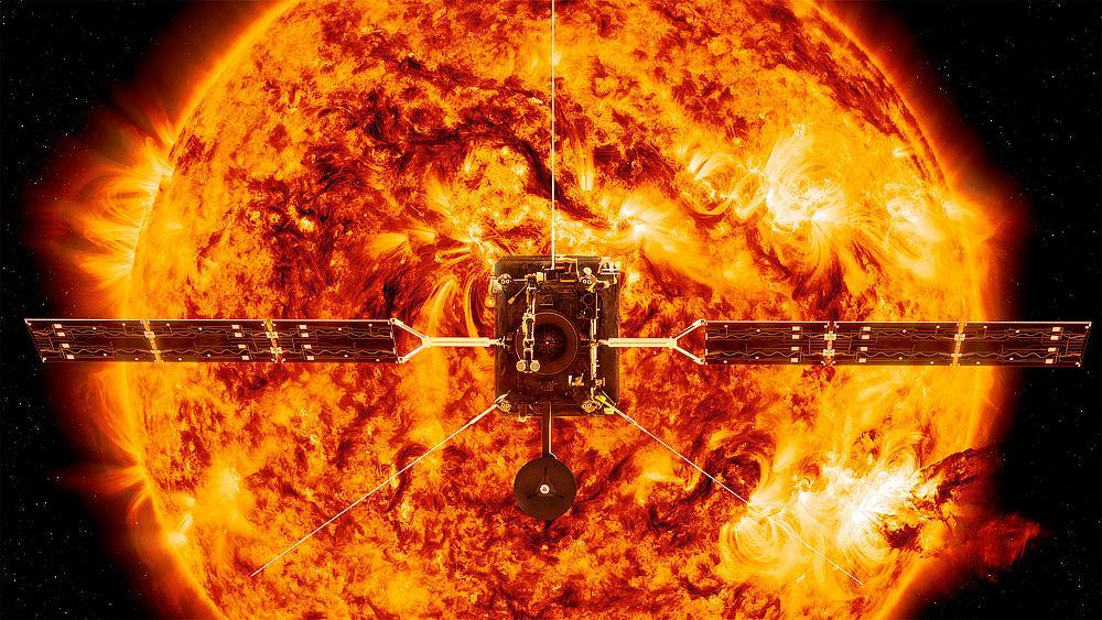 طوفان خورشیدی چیست