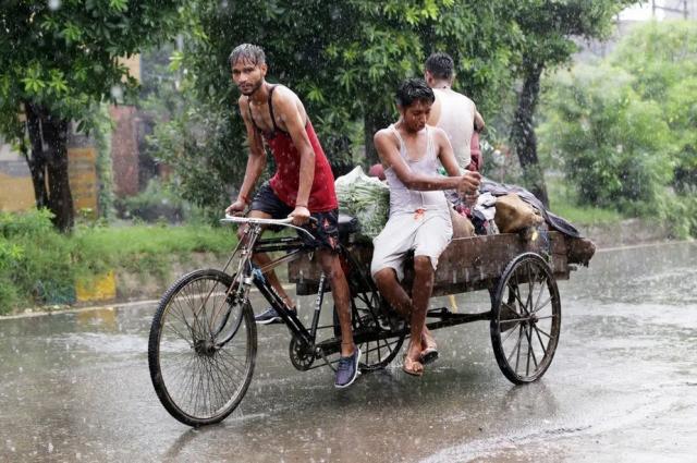 باران سیلآسا در آمریتسار هند