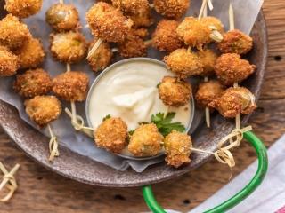 زیتون سوخاری؛ یک پیش غذای ایتالیایی خوشمزه