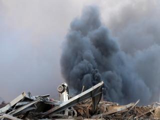 نشت مواد سمی و شیمیایی پس از انفجار بیروت