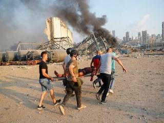 بحران در بیمارستانهای لبنان پس از انفجار بیروت