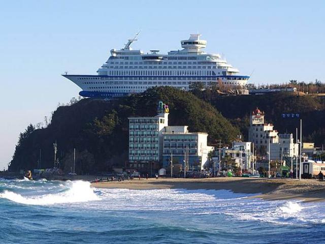 هتل سان کروز کره جنوبی + علت معروف شدن آن