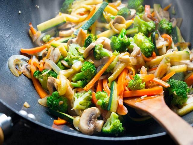 طرز تهیه خوراک سبزیجات بخارپز