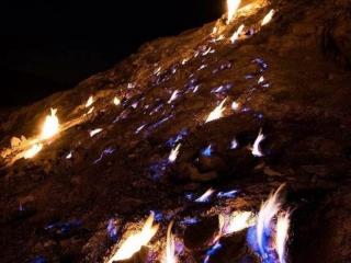 تشکوه یا کوه آتشین کجاست؟