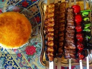 کباب قفقازی، لذیذ و خوشمزه