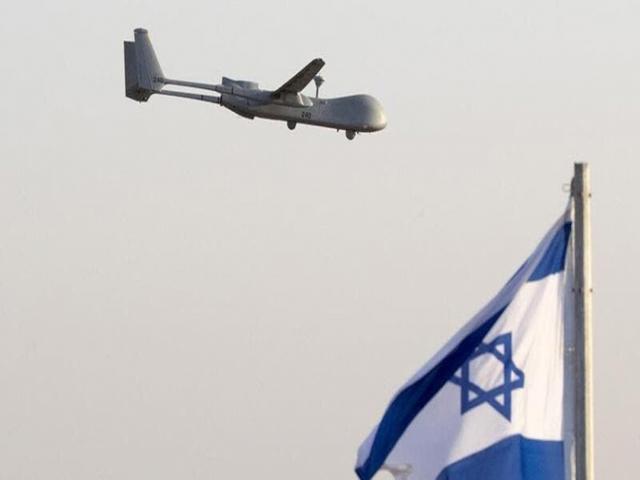 پهپاد اسرائیلی توسط حزب الله ساقط شد