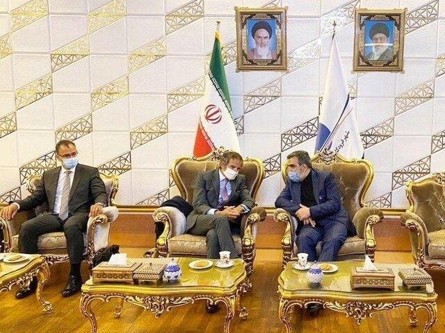 رافائل گروسی وارد تهران شد