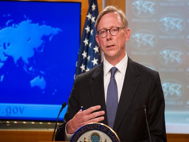 برایان هوک : ایران یک تهدید است
