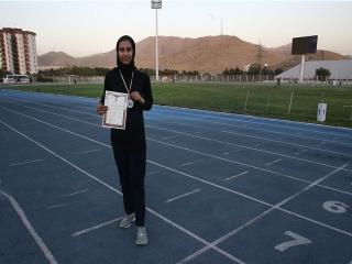 رکورد ملی ماده پرش طول بانوان ایران پس از 45 سال شکسته شد