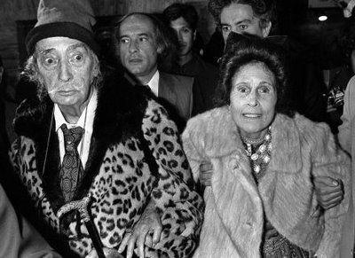 دالی و همسرش گالا