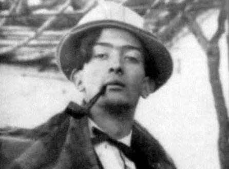 سالوادور دالی در جوانی