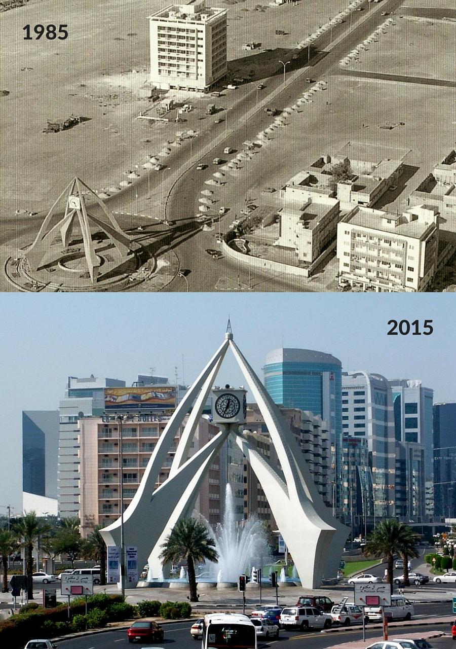 میدان ساعت دبی