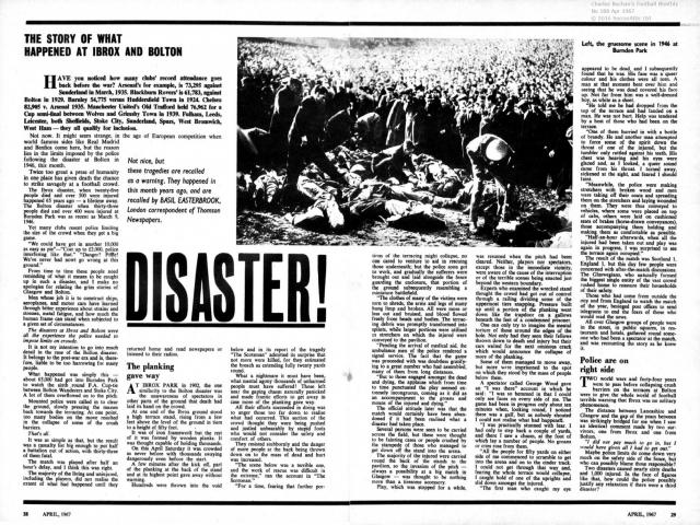 فاجعه آیبروکس؛ ماجرایی که استادیوم های جزیره را تغییر داد