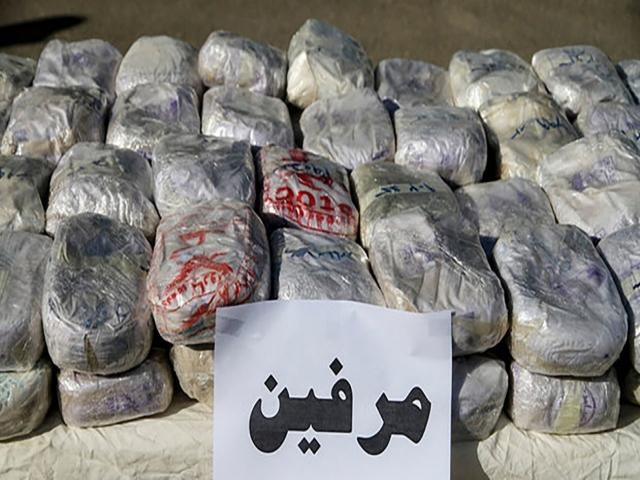 کشف بزرگترین محموله مرفین در استان گلستان