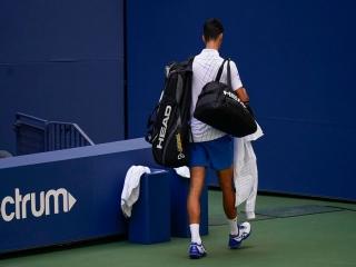 اخراج جوکوویچ از تنیس اپن آمریکا