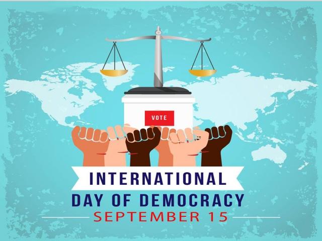 15 سپتامبر ، روز جهانی دموکراسی
