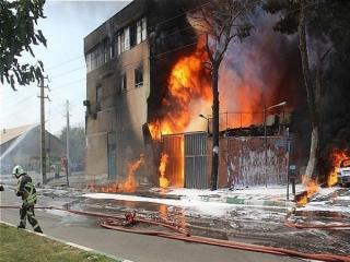 جزئیات آتش سوزی کارخانه میهن