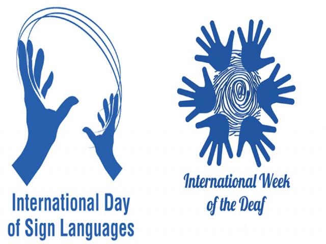 23 سپتامبر ، روز جهانی زبان های اشاره