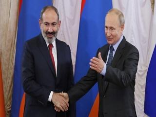 پوتین بر ضرورت توقف درگیری نظامی بین ارمنستان و جمهوری آذربایجان تاکید کرد