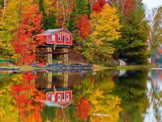 پاییز بی نظیر در ورمونت آمریکا (Vermont) + عکس