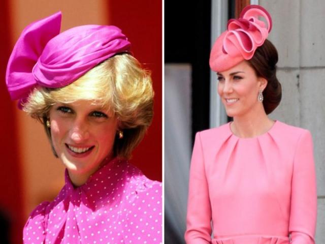 شباهت لباس های کیت میدلتون و مادرشوهرش پرنسس دایانا ؛ جلب توجه یا یادآوری خاطرات