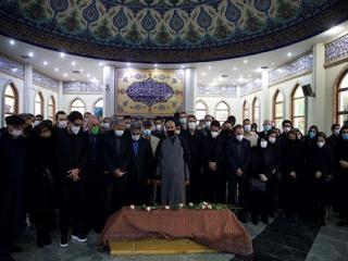 مراسم اقامه نماز بر پیکر محمدرضا شجریان انجام شد