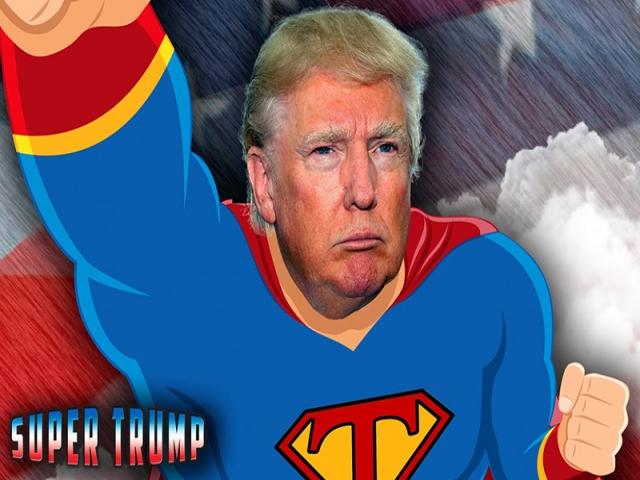 ماجرای سوپرمن شدن ترامپ چیست ؟