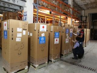 اهدای 250 دستگاه تنفسی و آزمایش PCR از سوی سازمان بهداشت جهانی به ایران