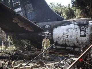 سانحه هواپیمای اوکراینی در حال بررسی است