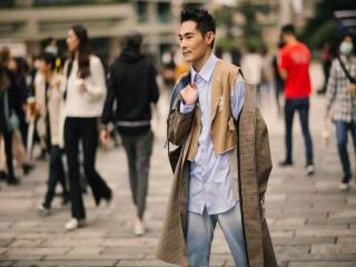 استایل های خیابانی عجیب مردان در هفته مد تایوان