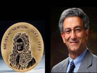 محقق ایرانی برنده مدال طلای نیوتن شد