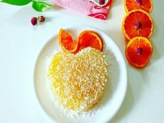 دسر پرتقال نارگیلی ؛ دسری لذیذ و سرشار از ویتامین سی