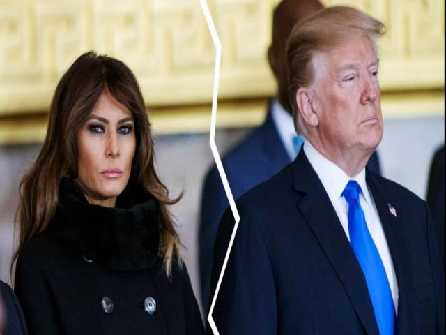 به محض خروج ترامپ از کاخ سفید، ملانیا از او طلاق خواهد گرفت!