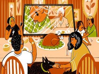 جشن شکرگزاری در چند قدمی سال نو میلادی
